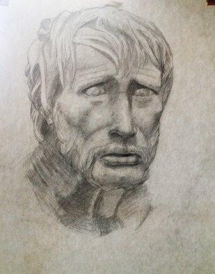 Paul Anton Artwork Sketch 03, 2012 Sketch 03, Portrait