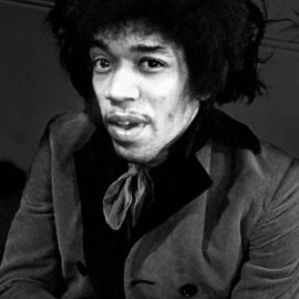 Jimi Hendrix  By Paul Berriff