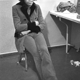 Jimi Hendrix Backstage  By Paul Berriff