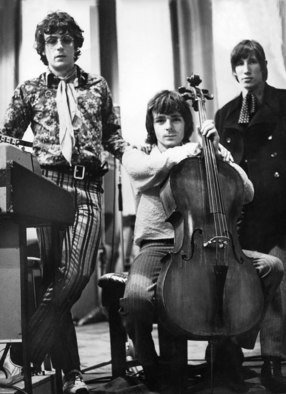 Paul Berriff: 'Pink Floyd', 1967 Black and White Photograph, Music. Artist Description:  Pink Floyd during a break in their recording session at Abbey Road Studios, London in March 1967. They were recording numbers for their album' Piper at the Gates of Dawn' . The photograph comes signed on the verso by photographer Paul Berriff with limited edition number and ...