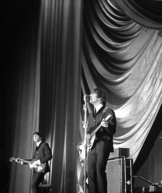 Paul Berriff: Showtime, 1963 Black and White Photograph