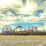 santa monica pier By Paul Berriff