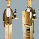 The Butler wine cabinet By Paul Carbo