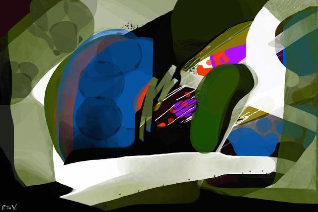 Van De  Ven  'Transparency Digital Raster Vector', created in 2013, Original Digital Art.