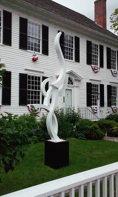 Paul Machalaba Artwork Ascension, 2015 Aluminum Sculpture, Abstract