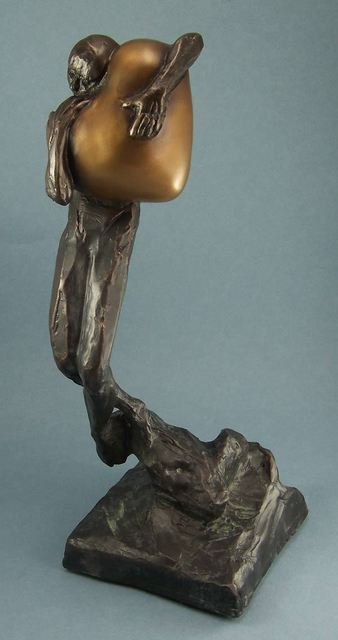 Paul Orzech  'Embrace', created in 2010, Original Sculpture Bronze.