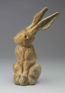 Paul Orzech Artwork 'Peter Rabbit', 2006. Bronze Sculpture. Animals. Artist Description: Peter Rabbit is a fun representation of the many rabbits the artist found playing and eating in his parents back yard. The resting ......