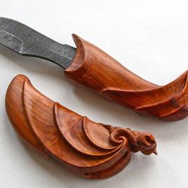Argus dagger in scabbard
