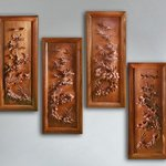 Wall decorative panels Four Seasons By Pavel Sorokin