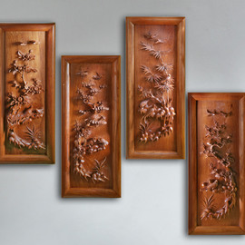 Wall decorative panels Four Seasons