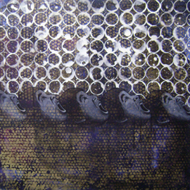 Pawan Sharma: 'Bubbles Life', 2007 Other Painting, Figurative.