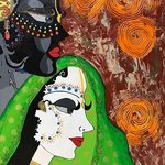 QUINTESSENCE OF PREM Original Painting Canvas Art By Payal Agrawal