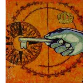 Eduardo Acevedo: 'The Key Master', 2011 Acrylic Painting, Surrealism. Artist Description:              acrylic on canvas .              ...