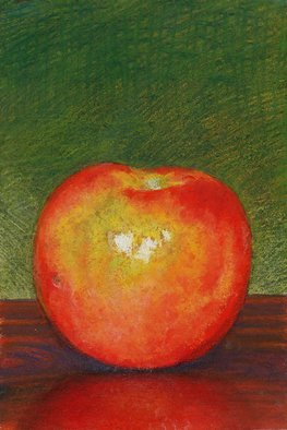 P. E. Creedon Artwork Apple, 2010 Pastel, Still Life
