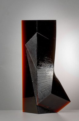 Josef Marek: 'Getting along', 2010 Cast Glass, Abstract.   minimalist, contemporary , glass fine art object  ...