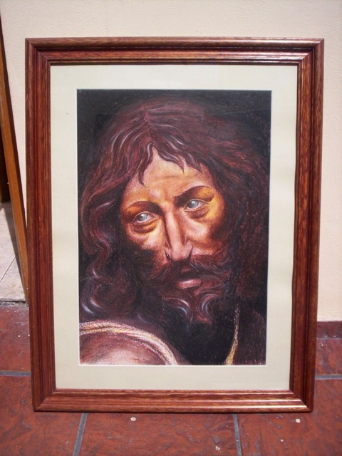 Facundo Pereyra  'ECCE HOMO', created in 2007, Original Drawing Pencil.