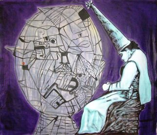 Artist: Eduardo Carqueijeiro - Title: guilty or not - Medium: Acrylic Painting - Year: 2008