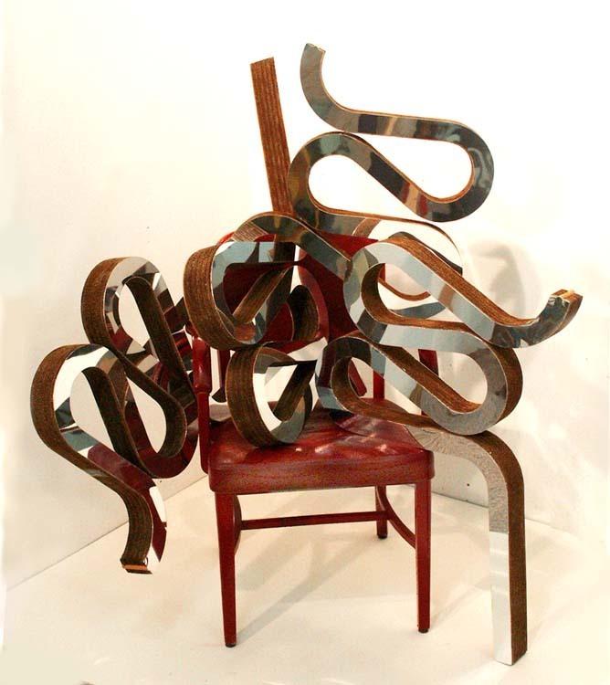 ben perrone artwork frank gehry chair sculpture original