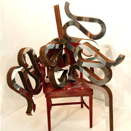 Ben Perrone Artwork frank gehry chair sculpture, 2009 Other Sculpture, Abstract