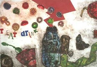Yuriy Pestov Artwork T Eat Drink, 2000 Other Printmaking, undecided