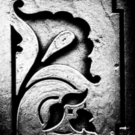 Peter C. Brandt: 'Castiron flower', 2010 Other Photography, Floral. Artist Description:  architectural details, sculpture, flowers, floral, abstract, architectural, graphic, photography, New York City  (c)2013PeterC. Brandt,            ...