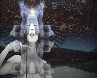 Peter Ingrassia Artwork Vail of Ethereal Beauty, 2010 Digital Art, People