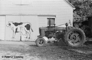 Artist: Peter J Crowley - Title: New England Farm - Medium: Silver Gelatin Photograph - Year: 2008