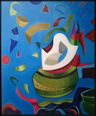Artist: Peter Tovar - Title: Exploiting Jar - Medium: Oil Painting - Year: 2014