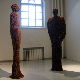 Petri Kiviniemi: 'Discussion', 2005 Other Sculpture, Figurative.