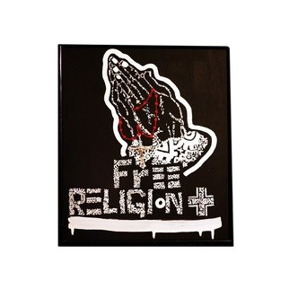 Mark Savage Artwork FREE Religion, 2015 Acrylic Painting, Popular Culture