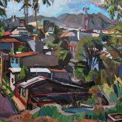, Copey With Water Tank 5, Landscape, Not For Sale
