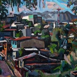 , Copey With Water Tank 2, Landscape, Not For Sale