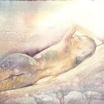 Reclining Nude By Philip Hallawell