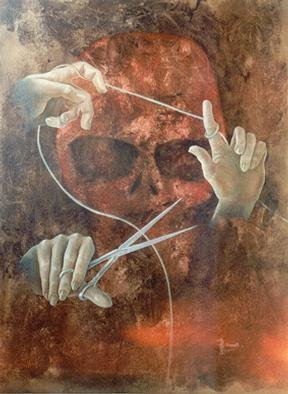 Philip Hallawell Artwork The Hands of Fate, 1988 The Hands of Fate, Death