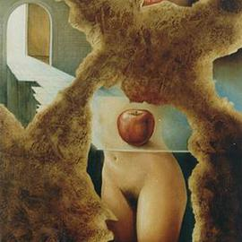 Philip Hallawell Artwork The Liberation of Eve 1, 1984 Oil Painting, Erotic