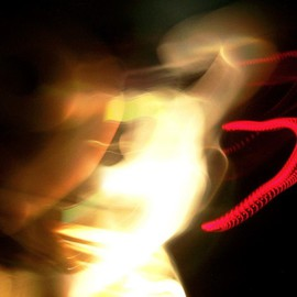 C. A. Hoffman: 'Aint Got No Backbone', 2008 Color Photograph, Abstract. Artist Description:  Fourth in my series of Phantom Light Spectors.  All photos are available in sizes up to 16x20 inches. ...