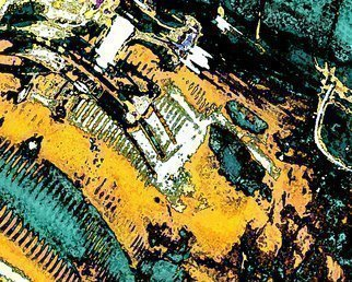 C. A. Hoffman: 'Ancient  I', 2010 Color Photograph, Abstract Landscape. Artist Description:  This an original photo that has been digitally- enhanced to create an original work of art.                                                                                                                          ...