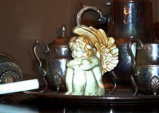 C. A. Hoffman Artwork Angels Tea Service, 2008 Angels Tea Service, Still Life