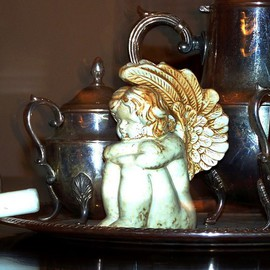 Angels Tea Service By C. A. Hoffman
