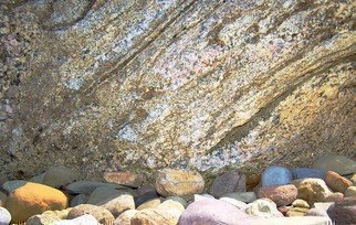 Color Photograph by C. A. Hoffman titled: Bigger Boulder, 2008
