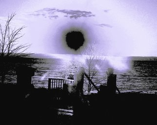 Artist: C. A. Hoffman - Title: Black Hole Bay - Medium: Color Photograph - Year: 2010