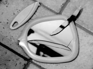 C. A. Hoffman Artwork Broken Dreams, 2009 Black and White Photograph, Abstract Figurative