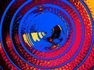 Color Photograph by C. A. Hoffman titled: Concentric Color III, created in 2009