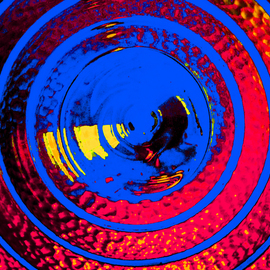 Concentric Color III By C. A. Hoffman