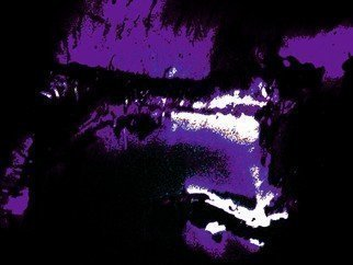 Artist: C. A. Hoffman - Title: Faces in the Shadows II - Medium: Color Photograph - Year: 2008
