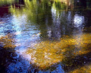 C. A. Hoffman: 'Golden Triangle Lake', 2010 Color Photograph, Landscape. Artist Description:  This is an original photo that has been digitally- painted to create an original work of art.                                         ...