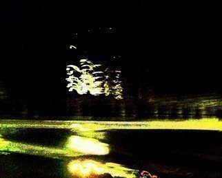 Artist: C. A. Hoffman - Title: Green Hornet Light IV - Medium: Color Photograph - Year: 2008