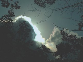 Color Photograph by C. A. Hoffman titled: Heavens Streak, created in 2008