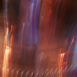 C. A. Hoffman Artwork Hells Fireworks, 2008 Color Photograph, Abstract