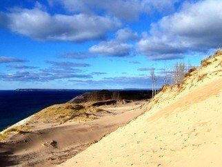 Color Photograph by C. A. Hoffman titled: Her Sand Dunes, created in 2008